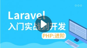 PHP進階:Laravel入門到實戰