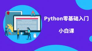 Python零基礎入門小白課