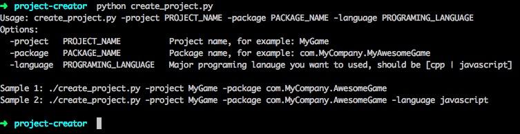 python create_project.py