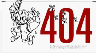 有创意的404页面