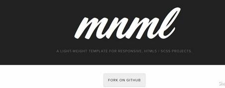 Mnml Lightweight Template