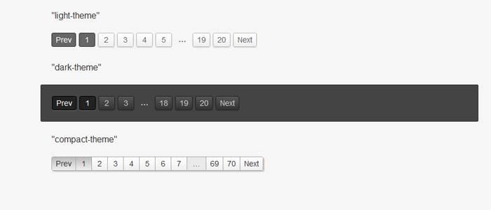 结合CSS3实现的jQuery分页插件