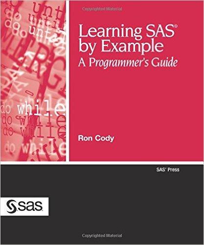 学习SAS通过实例