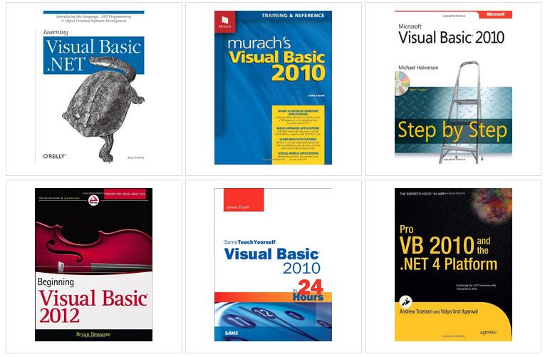 VB.Net有用的书籍