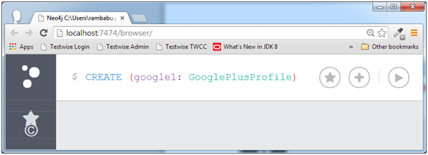 CREATE (google1:GooglePlusProfile)