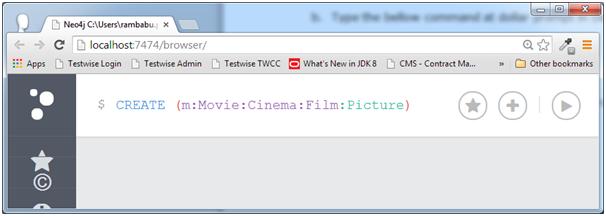 """为""""Cinema""""节点创建多个标签名称"""