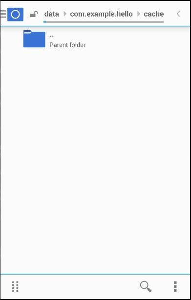 Cordova File Root Empty
