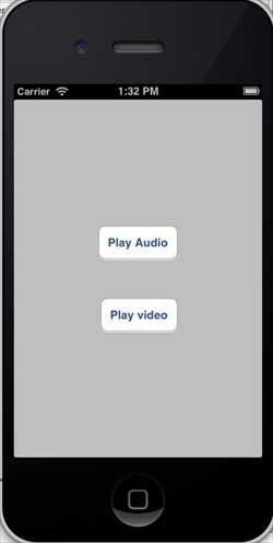 iOS音频和视频