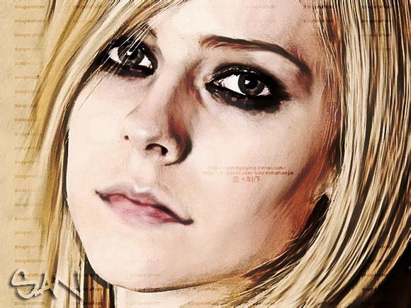 Photoshop把美女图片转为强质感油画效果