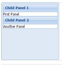 Ext.js Ext.panel.Panel容器