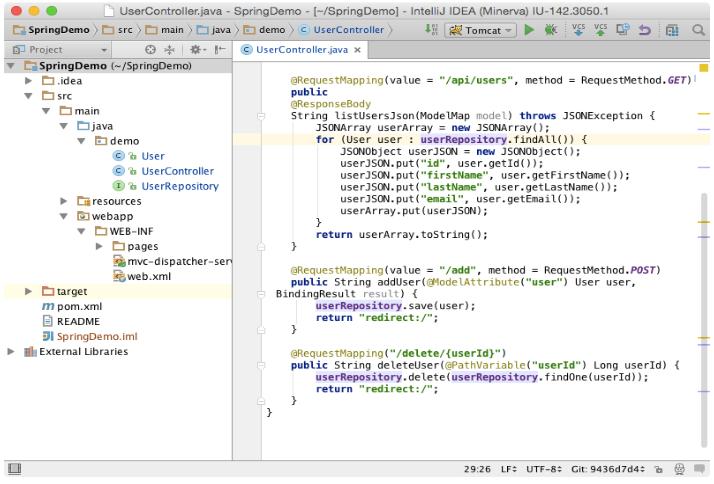 IntelliJ IDEA 的用户界面