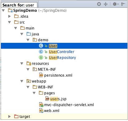 IntelliJ IDEA的快速搜索功能