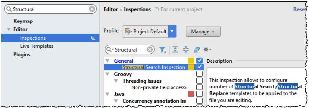 IntelliJ IDEA 使用结构搜索和替换功能