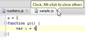 IntelliJ IDEA如何隐藏编辑标签