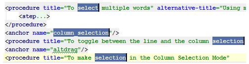 IntelliJ IDEA的多项选择编辑器的使用