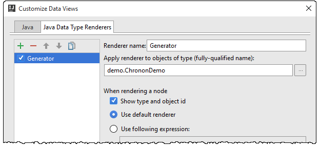 IntelliJ IDEA 自定义数据渲染器的使用技巧