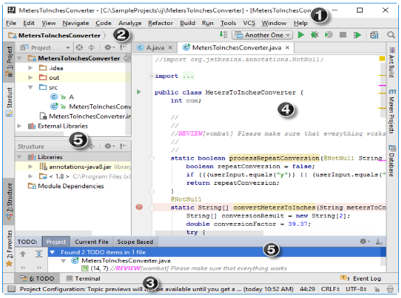 IntelliJ IDEA用户界面的欢迎屏幕