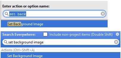 设置IntelliJ IDEA背景图像