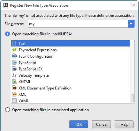 打开IntelliJ IDEA文件进行编辑