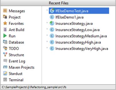 重新打开IntelliJ IDEA文件