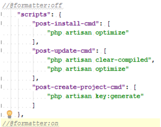 IntelliJ IDEA使用格式标记的示例