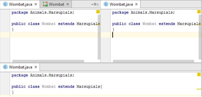 分割IntelliJ IDEA编辑器窗口
