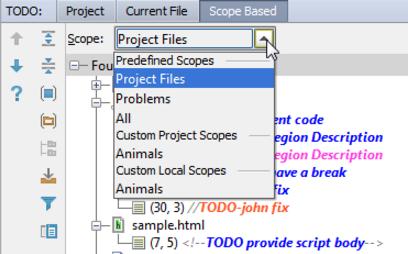 IntelliJ IDEA查看项目中的TODO项目