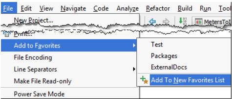 IntelliJ IDEA使用项目工具窗口将项目添加到收藏夹
