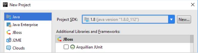 创建 IntelliJ IDEA 项目或模块时定义SDK
