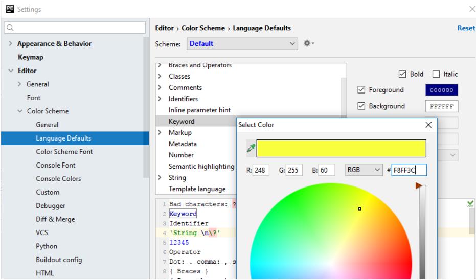 IntelliJ IDEA更改语言默认值