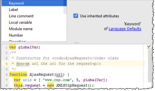 IntelliJ IDEA更改 JavaScript 的字体