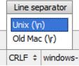 IntelliJ IDEA 更改文件的行分隔符