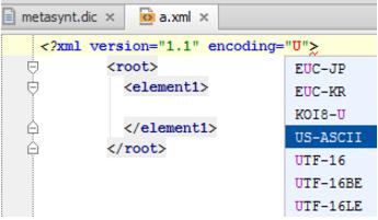 IntelliJ IDEA更改包含显式编码的文件的编码