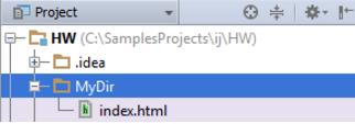 IntelliJ IDEA 创建空文件