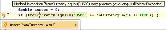 IntelliJ IDEA代码可能存在的错误
