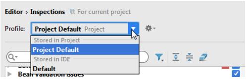 IntelliJ IDEA 自定义配置文件
