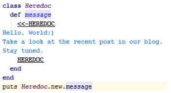 IntelliJ IDEA使用HEREDOC创建文档注释