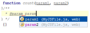 IntelliJ IDEA 在文档注释块中创建标签