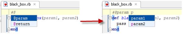 IntelliJ IDEA 为 Ruby 方法创建文档注释