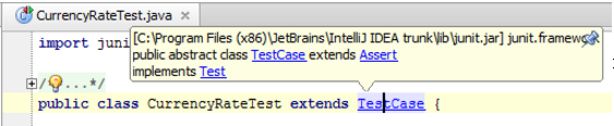 查看 IntelliJ IDEA符号在插入符号上的定义