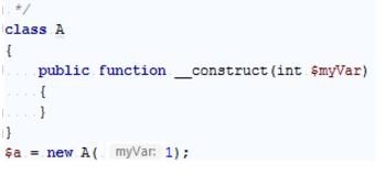 IntelliJ IDEA 构造函数的参数信息