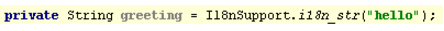 使用自定义资源包类提取字符串文字