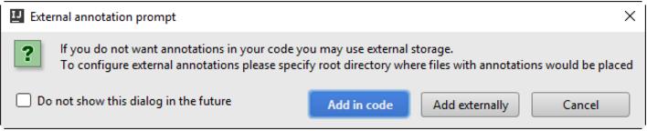 IntelliJ IDEA忽略硬编码字符串