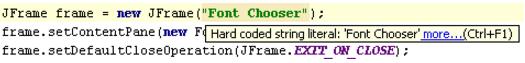 IntelliJ IDEA识别硬编码字符串