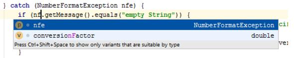 IntelliJ IDEA使用基本代码完成