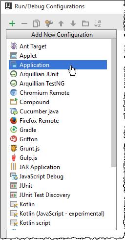 IntelliJ IDEA创建运行/调试配置