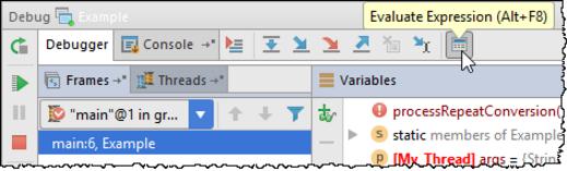 IntelliJ IDEA计算表达式