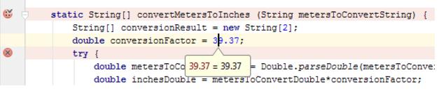 IntelliJ IDEA在编辑器中计算表达式