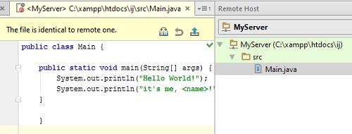 IntelliJ IDEA编辑远程主机上的文件