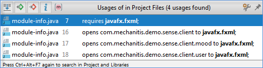 Java模块图